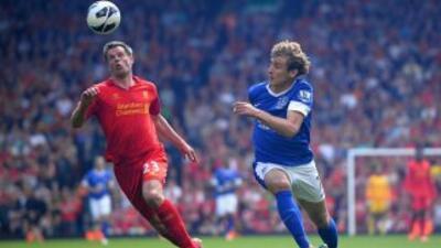 Los 'Reds' desaprovecharon la oportunidad de recortar puntos con el Ever...