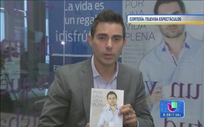 Ernesto D'Alessio presentó su primer libro 'Por una vida plena'