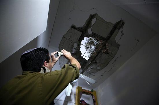 Según Israel, 360 cohetes han sido lanzados desde la Franja de Gaza.