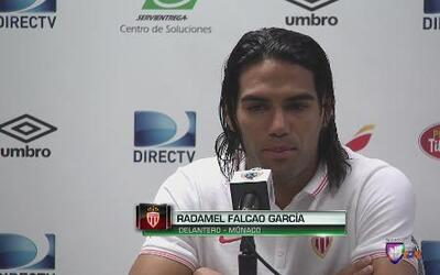 """Radamel Falcao: """"Estoy casi al cien por ciento"""""""