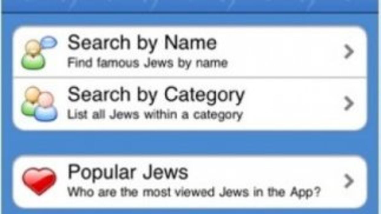 La app fue creada, irónicamente, por un desarrollador Judío.