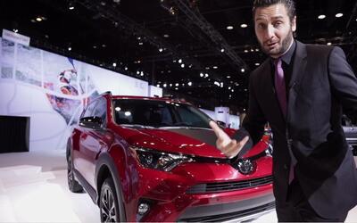 La Toyota RAV4 Adventure hace su aparición durante el Auto Show de Chica...