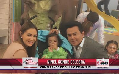 Ninel Conde celebra cumpleaños de su hijo Emmanuel