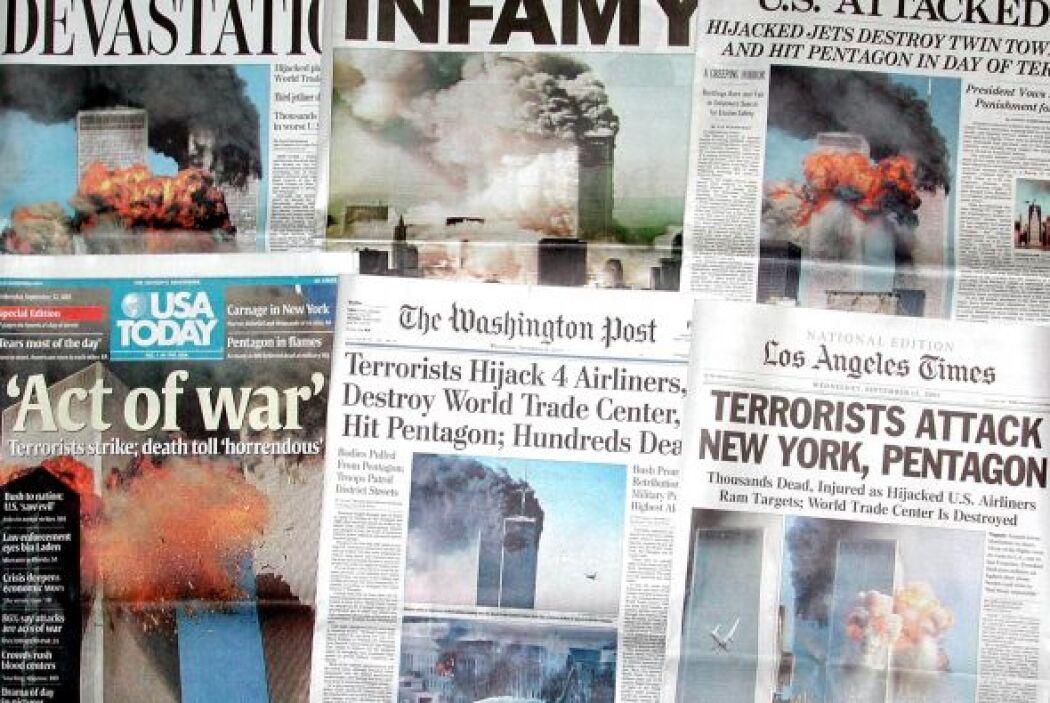 Fue la noticia del día, del año, del siglo. Y los medios de todo el mund...