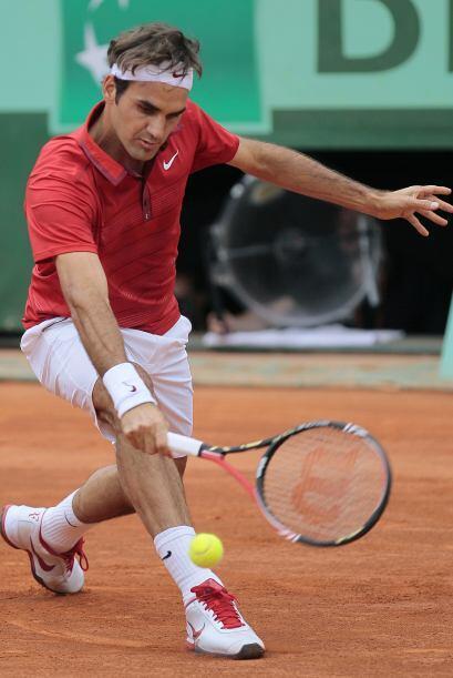 Federer, corriendo como nunca, motivado especialmente para este duelo, d...
