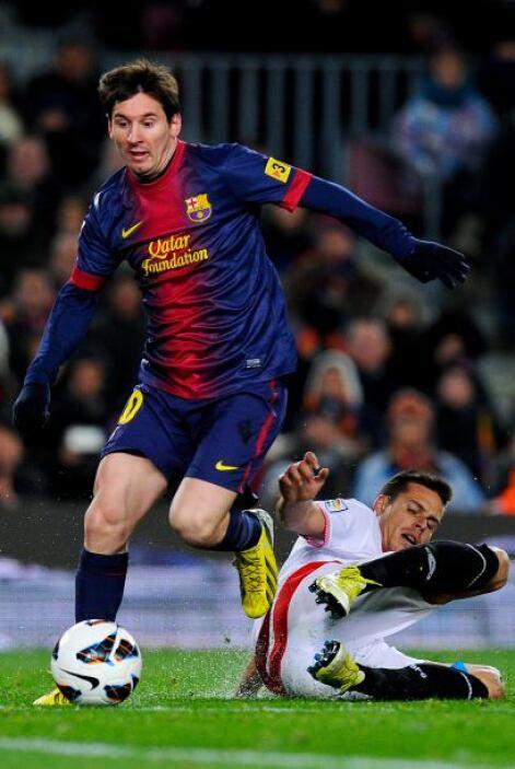 Finalmente iba a aparecer, cuándo no, Lionel Messi.