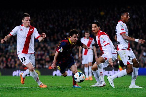Siguió el recital del Barcelona.