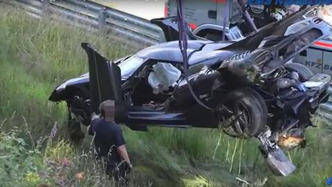 Accidente Koenigsegg One:1 en Nurburgring