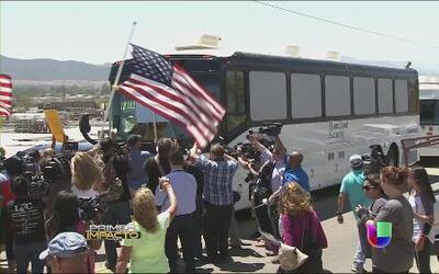Aumenta la tensión en Murrieta, California, por crisis de niños migrantes