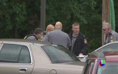 Impresionante operativo policial para arrestar a un asesino en Pensilvania
