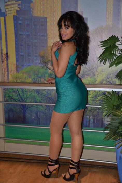 Dileydi también es caribeña, de República Dominicana, aunque actualmente...