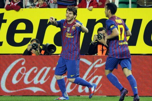 Golazo de Messi, uno más para su larga lista.
