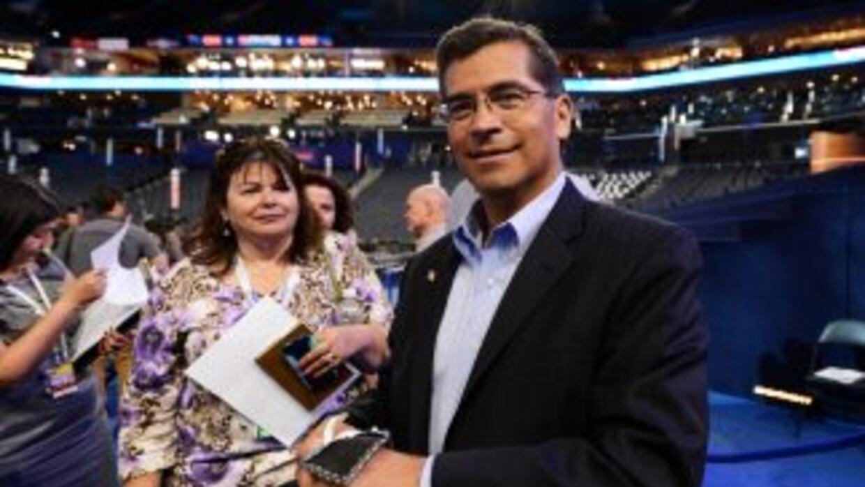 El congresista demócrata Xavier Becerra asegura que durante un segundo m...