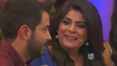 Victoria Ruffo lloró con la sorpresa que le preparó su hijo José Eduardo...