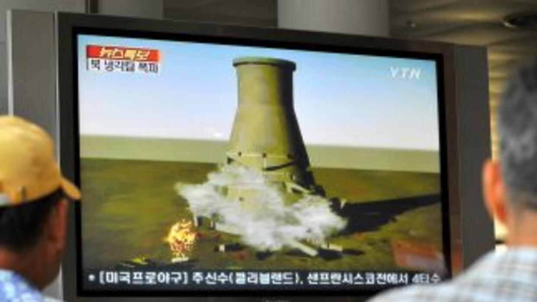 Rusia ha observado actividad en la central nuclear norcoreana de Yongbyo...