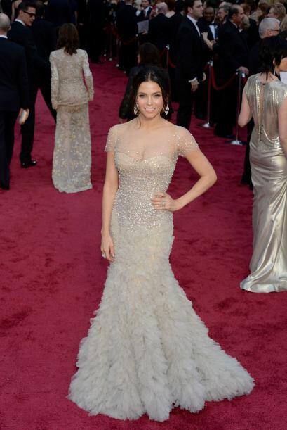 Jenna Dewan-Tatum apostó por las transparencias, las cuales s&oac...