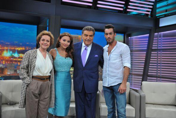 Luego del gran final de la telenovela Teresa, Don Francisco recibe al el...