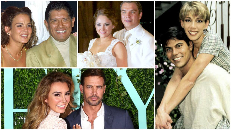 Amores tormentosos de los actores de telenovela.
