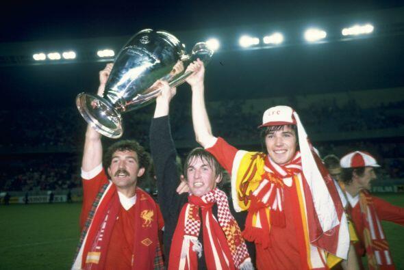Para 1984 el Liverpool ganó la cuarta 'Champions' en su historia,...