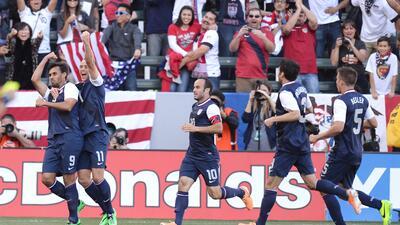 EEUU venció 2-0 a Corea del Sur en amistoso