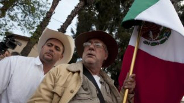 """En las primeras horas del sábado, la denominada """"Marcha por la Paz, la D..."""