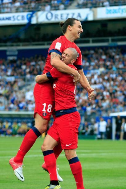 Actuación que ayudó al PSG a recuperar el paso en Francia...