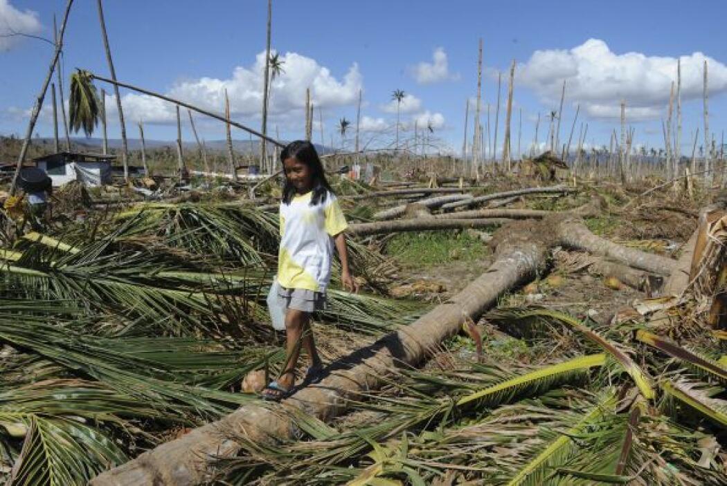 4 de diciembre. El tifón Bopha azota las Filipinas y causa gran destrucc...