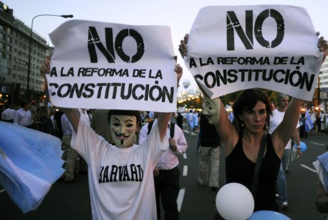 Kirchner cumplió su primer mandato entre 2007 y 2011, año en el que fue...