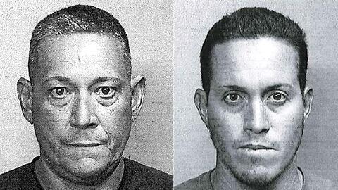 Los imputados, José Miguel Cruz Vega (izquierda) y Rafael Cruz Mo...