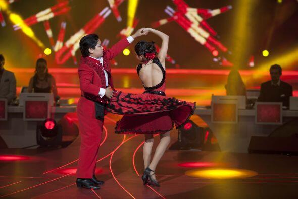 El ritmo que bailaron fue  Paso Doble el cual es un ritmo traído...