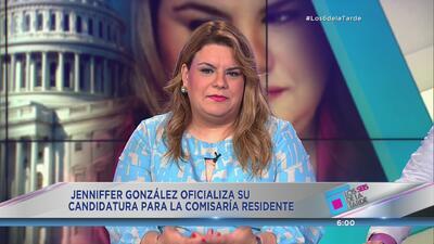 Jenniffer González habla de su aspiración a Washington