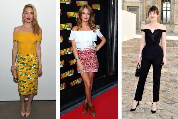 Las celebridades se lucen usando la prenda que será la estrella de la pr...