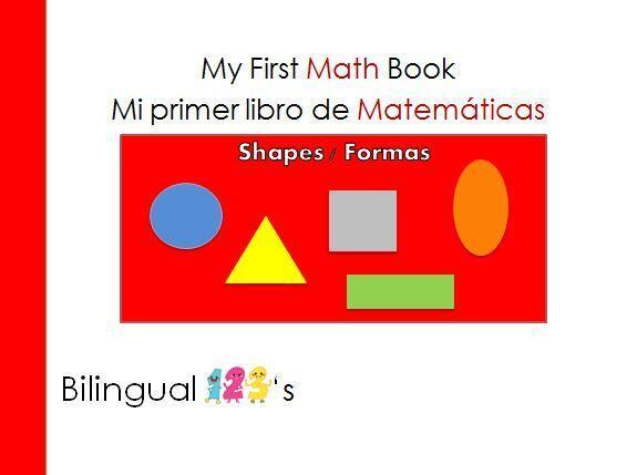 Te traemos este libro bilingüe de matemáticas para aprender...