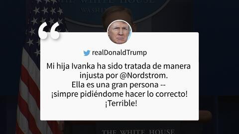 """Spicer: """"El presidente tiene todo el derecho de defender a su familia de..."""