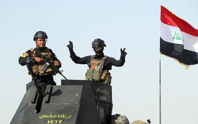 Avance de tropas iraquíes sobre Faluya