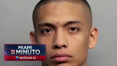 'Miami en un Minuto': tras pagar una fianza, queda en libertad el joven...