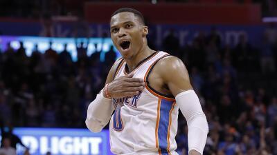 Westbrook totalizó 35 puntos, 14 rebotes y 11 asistencias.