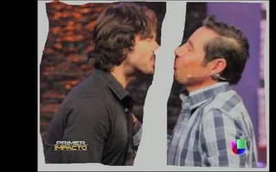 Jordi Rosado habló de los besos que se dio con José Ron