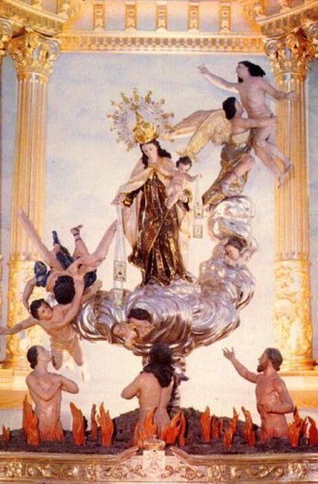 La Virgen del Carmen o Nuestra Señora del Carmen es considerada Reina y...