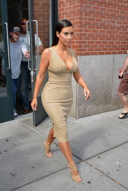 Pero desde que está con Kanye la vemos más glamorosa.Mira...