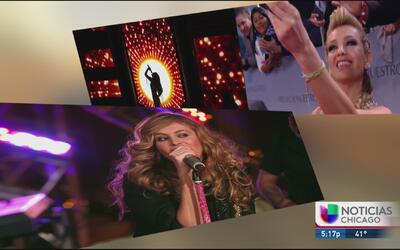 Thalía se defiende de quienes la critica por imitar a Paulina Rubio