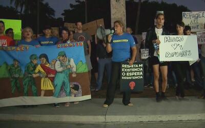 Se realizarán protestas en Miami contra las políticas migratorias de Don...