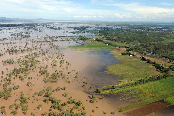 Australia está siendo afectada por impresionantes inundaciones qu...