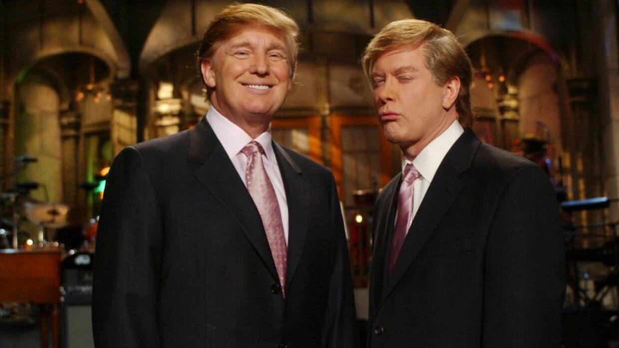Donald Trump en el programa Saturday Night Live