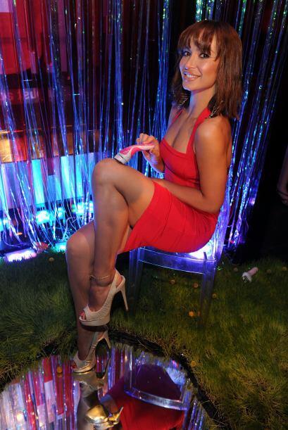 La bellísima bailarina de 'Dancing with the Stars' Karina Smirnof...