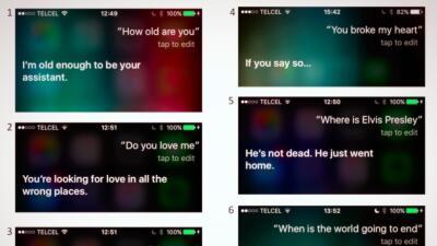 Conversaciones con Siri