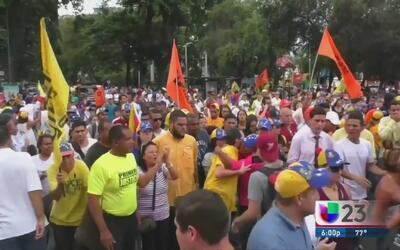La comunidad venezolana en Miami se solidariza con sus compatriotas por...