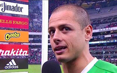 """'Chicharito' tras su gol con el Tri: """"Nunca me imaginé empatar el record..."""