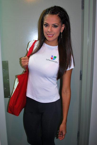 Las chicas de Nuestra Belleza Latina llegaron muy puntuales para partici...