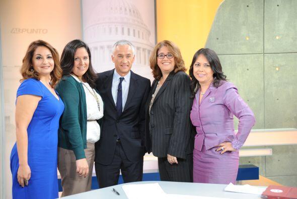Jorge Ramos presenta un debate en 'Al Punto' 4e1dc325c8a84312808525b9936...